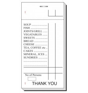 Restaurant Order Pads Save on Restaurant Order Pads now.
